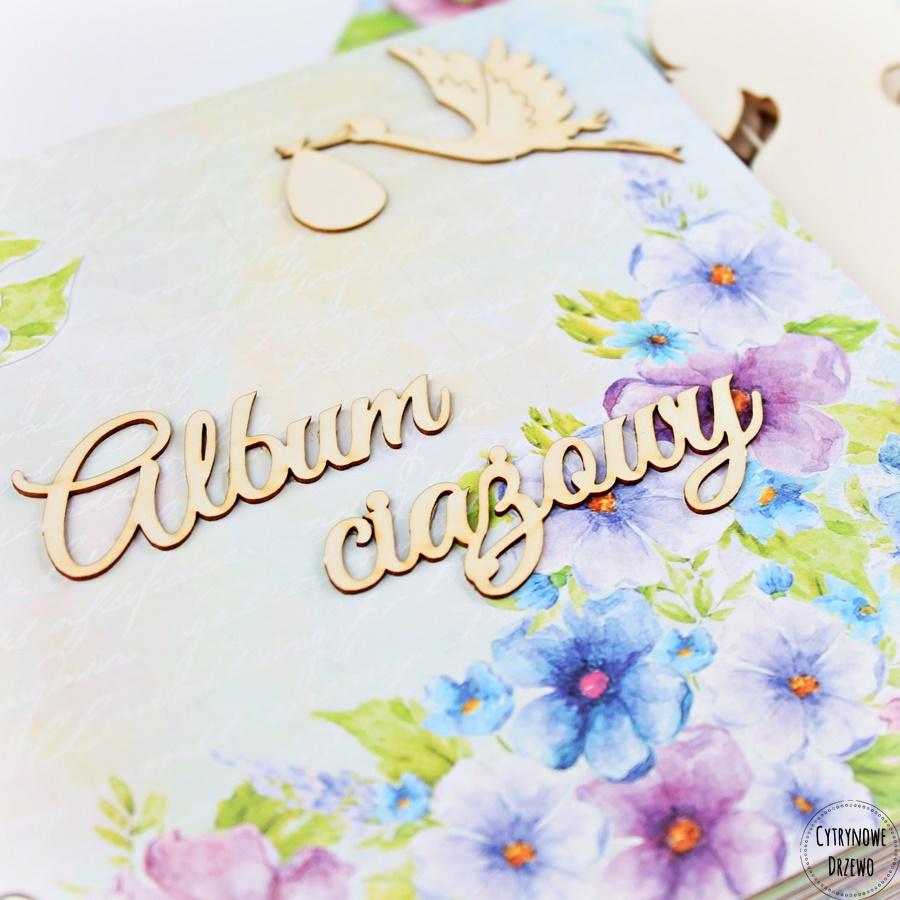 album ciazowy z rosnacym brzuszkiem