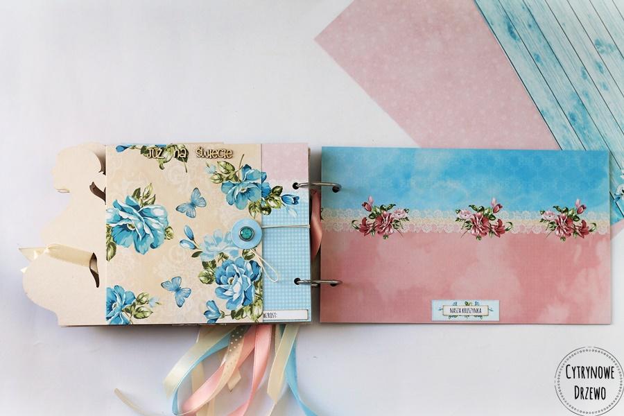 album ciazowy flower harmony