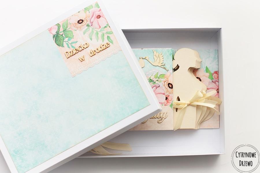 album ciazowy spring blossoms
